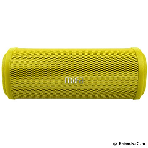 MIFA Wireless Speaker Bluetooth [F5] - Yellow - Speaker Bluetooth & Wireless